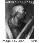 #20920 Stock Photography Of The Explorer And Cartographer Amerigo Vespucci