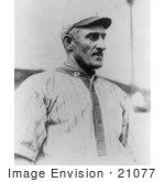#21077 Stock Photography of Honus Wagner, Pittsburgh Pirates Baseball Shortstop in 1913 by JVPD