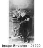#21229 Stock Photography of Elsie Leslie in Little Lord Fauntleroy, 1888 by JVPD