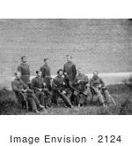 #2124 Gen John F Hartranft And Staff
