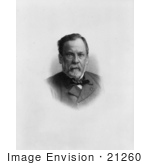 #21260 Stock Photography Of Louis Pasteur Creator Of The Fist Rabies Vaccine Chemist And Microbiologist