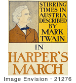 #21276 Stock Photography Of Stirring Times In Austria Described By Mark Twain In Harper'S March 1898