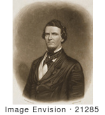 #21285 Stock Photography Of Congressman Preston Brooks