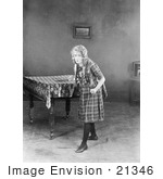 #21346 Stock Photography Of Gladys Louise Smith Known As Mary Pickford As Annabelle Rooney In Little Annie Rooney