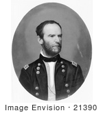 #21390 Historical Stock Photography Of William T Sherman