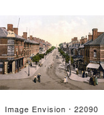 #22090 Stock Photography Of Lumley Road In Skegness East Lindsey Lincolnshire England United Kingdom