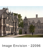 #22096 Stock Photography Of Worchester College Oxford Oxfordshire England