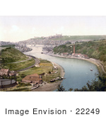 #22249 Historical Stock Photography Of Whitby North Yorkshire England United Kingdom
