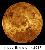#2587 Venus Centered At 180 Degrees East Longitude