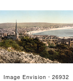 #26932 Stock Photography Of The Coastal Town Of Weston-Super-Mare On The Bristol Channel In North Somerset England Uk