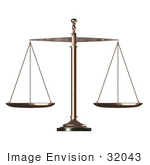 #32043 Justice Scales