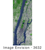 #3632 Manhattan From Space
