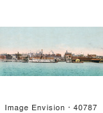 #40787 Stock Photo Of Steamships In The Harbor On The Toronto Waterfront Ontario Canada