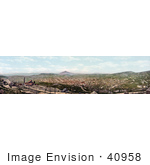 #40958 Stock Photo Of A Panoramic Cityscape Of Cripple Creek Colorado