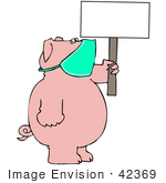 #42369 Clip Art Graphic Of A