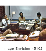 #5102 Stock Photography Of A Cdc Debriefing Held By The Ebola Task Force After The Zaire Outbreak Of 1976