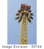 #53744 Royalty-Free Stock Photo Of Amusement Ride