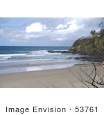 #53761 Royalty-Free Stock Photo Of A Beach