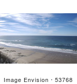 #53768 Royalty-Free Stock Photo Of A Beach