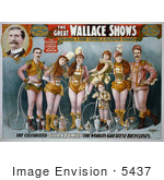 #5437 The Great Wallace Shows