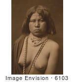 #6103 Mohave Woman