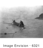 #6321 Quinault Indians Fishing