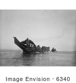 #6340 Kwakiutl Wedding Canoes
