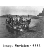 #6363 Indian Wedding Canoes