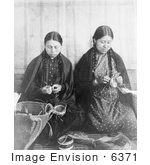 #6371 Makah Indian Basket Weavers