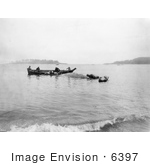 #6397 Makah Indian Whalers