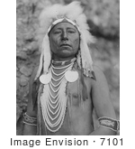 #7101 Stock Photography: Crow Indian Man Called Which Way