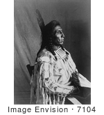 #7104 Stock Photography: Crow Indian Man By The Name Of Medicine Crow