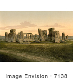 #7138 Stock Photography: Stonehenge