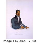 #7298 John Ridge A Cherokee Indian Man