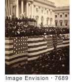 #7689 Picture of Rutherford Hayes Presidential Inauguration by JVPD