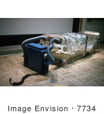 #7734 Picture Of A Ebola Virus Bed Isolator - 1977