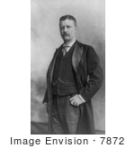 #7872 Picture Of Theodore Roosevelt In 1898