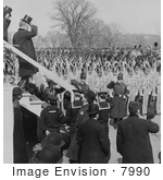 #7990 Picture Of Roosevelt After Inauguration