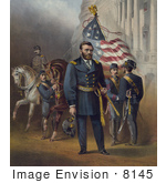#8145 Picture of General Ulysses S Grant by JVPD