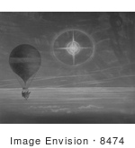 #8474 Picture Of The Zenith Balloon In Flight