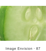 #87 Vegetable Food Picture Of A Cucumber Slice
