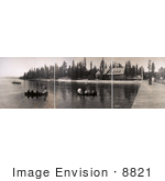 #8821 Picture Of Tourists Boating Near Hotels Lake Tahoe