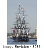 #8983 Picture Of The Uss Constitution
