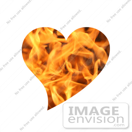 #10883 Picture of a Flaming Heart by Jamie Voetsch