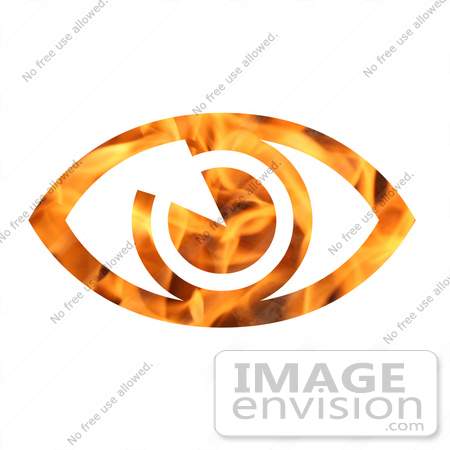 #10885 Picture of a Flaming Eye by Jamie Voetsch