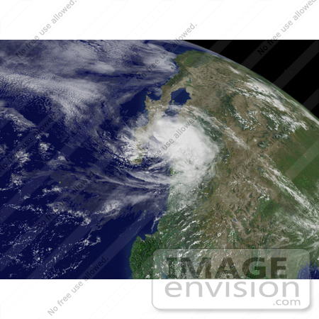 #15345 Picture of Hurricane Henriette Near Mexico by JVPD