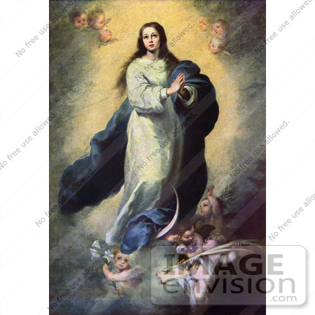 #18610 Photo of the Mother of Jesus, Mary, as the Immaculate Conception by JVPD