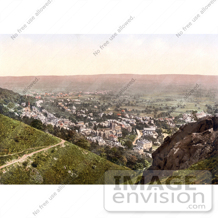 #26815 Stock Photography of the Town of Malvern in Worcestershire England UK by JVPD