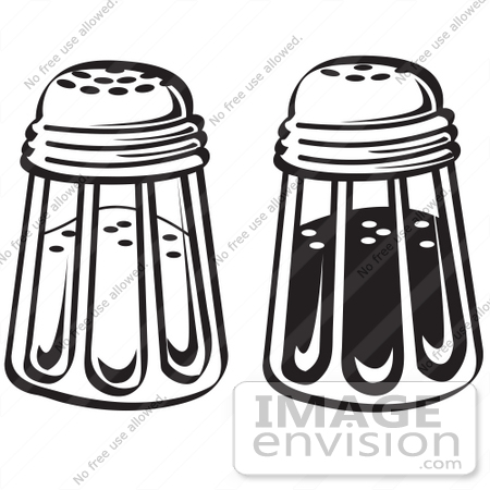 Royalty Free Cartoon Clip Art Of A Salt