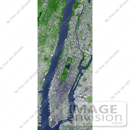 #3632 Manhattan From Space by JVPD